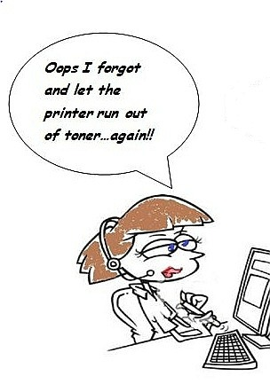 A Better Way to Manage Your Colour Printer Toner