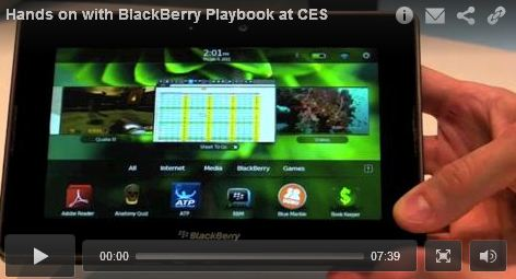 Blackberry Playbook Video Review