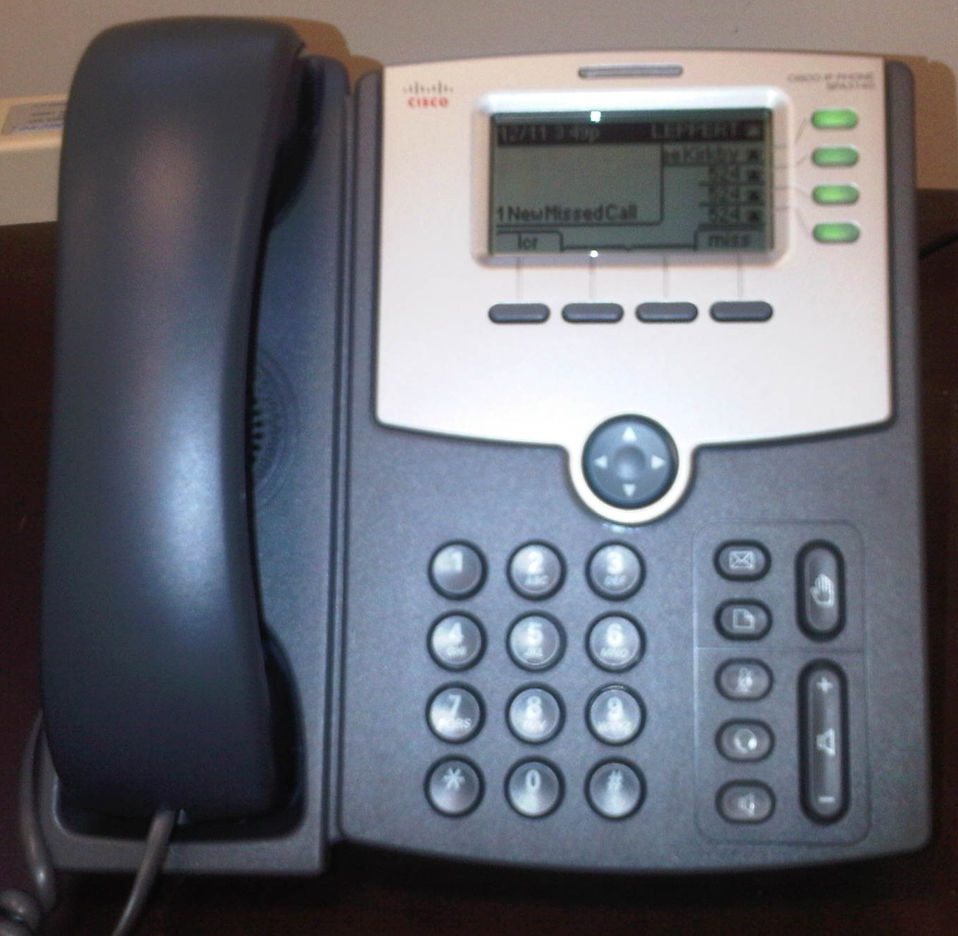 Cisco Voip Phone on Desk