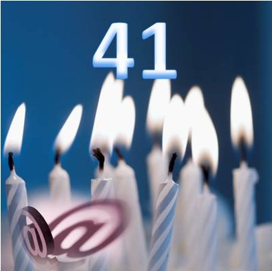 Email Turns 41