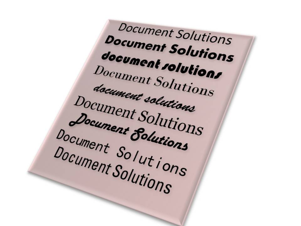 Everybody is Talking About Document Solutions
