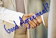 handshake agreement?