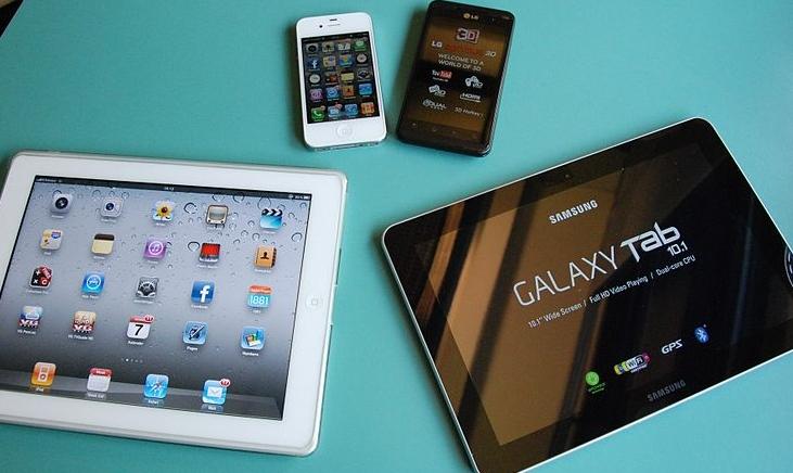 Smartphones, tablets, BYOD