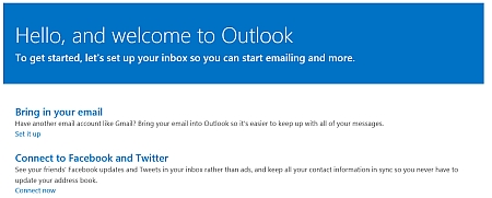 Microsoft Outlook dot com as a New Gmail Competitor