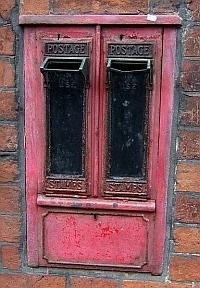Old Postage Meter