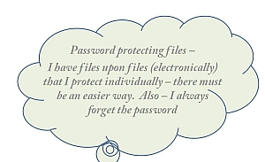 Password Protected Files Got You Down  Try Document Management