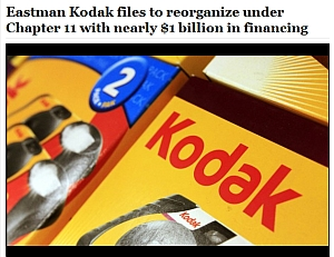 Production Scanners From Kodak Affected by Chapter 11