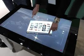 Samsung Launches SUR40 Surface Touch Tabletop in Canada