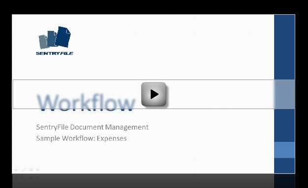 SentryFile Workflow Expenses Sample