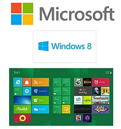 Microsoft Windows 8 Tile Screen