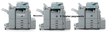 You Pay For Two Copiers When Upgrade Not Paid by Copier Vendor