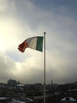 Irish Flag Dublin