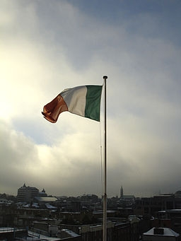 Irish Flag Dublin