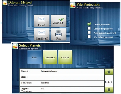 AccuSender From Kyocera for Large File Transfer