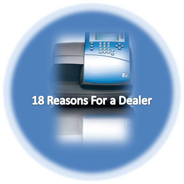 18 Reasons for a dealer for your postage machine