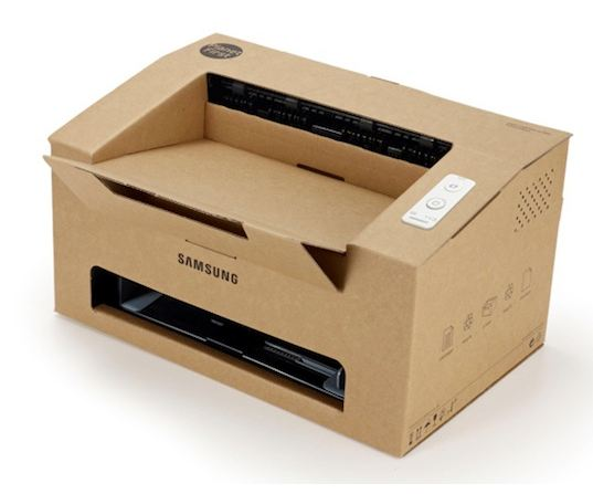 Samsung Cardboard Origami Printer
