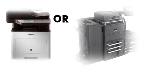 Small or Large MFP