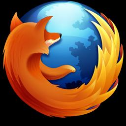 Mozilla Firefox 3.5 logo 256 resized 600
