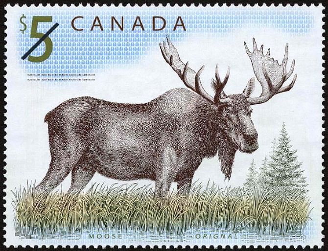 $5 Canada Stamp