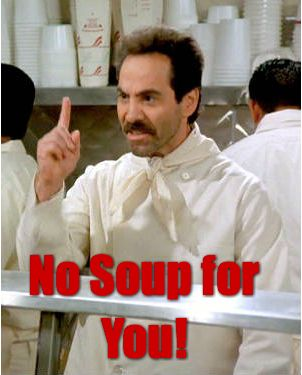 No Soup For You Neopost Article