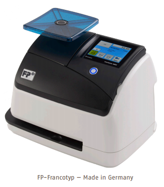 Small convenient and low cost postage meter